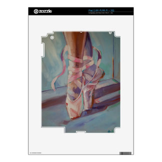 Ballet Shoes iPad 2 Decals