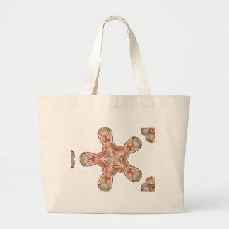 Ballet Shoes Kaleidoscope Jumbo Tote Bag
