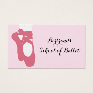 Ballet Slippers Business Card