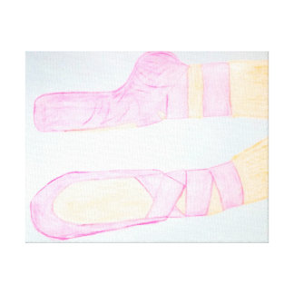 Ballet Slippers! Canvas Print