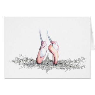 Ballet Slippers Card