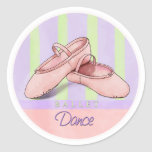 Ballet Slippers Dance stickers