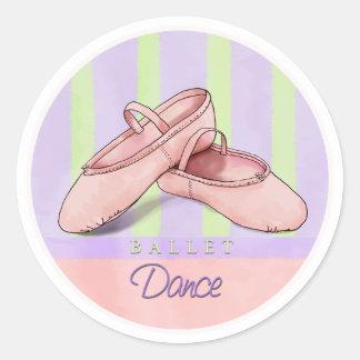 Ballet Slippers Dance stickers