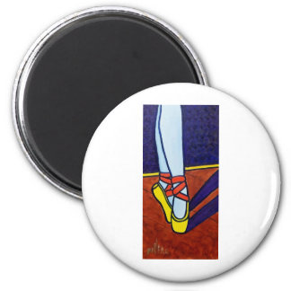 Ballet Slippers Magnet