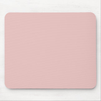 Ballet Slippers Pink Solid Color Mouse Pad