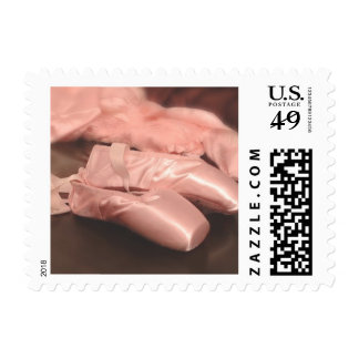 Ballet Slippers Postage Stamps