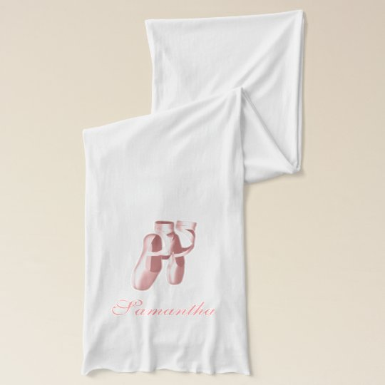 Ballet Slippers Scarf