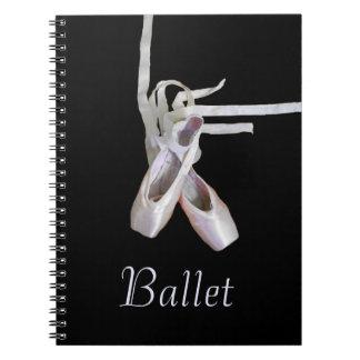 'Ballet' Spiral Notebook/Journal Spiral Notebook