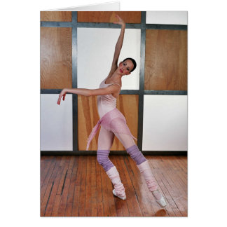 Ballet Squares 4 Greeting Card