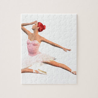 Ballet Stage Bow Jigsaw Puzzle