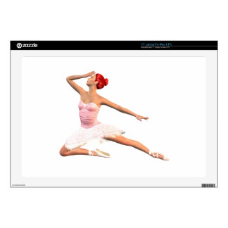 Ballet Stage Bow Laptop Skins