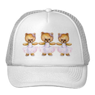 Ballet Step Bears Hat