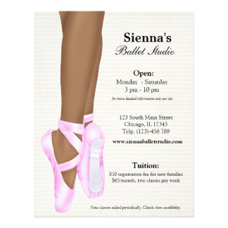 Ballet Studio Flyer