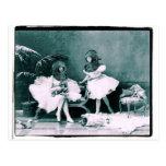 Ballet subacuático postales
