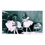 Ballet subacuático plantillas de tarjetas personales
