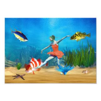 Ballet submarino cojinete