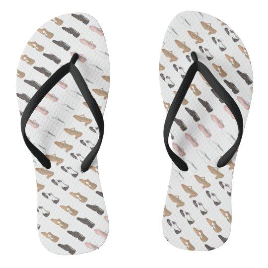0c2049dbeb0b02 Ballet Tap Jazz Lyrical Acro Character Dance Shoes Flip Flops ...