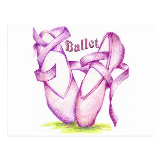 Ballet Tarjeta Postal