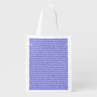 Ballet Terminology Grocery Bag