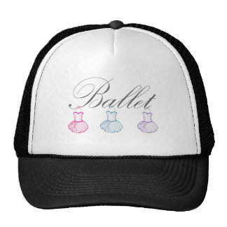 Ballet Text Word Art.jpg Trucker Hat