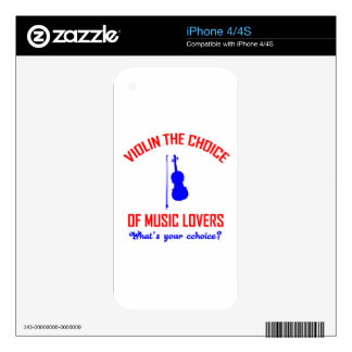 ballet  the choice of music lovers skin for iPhone 4S