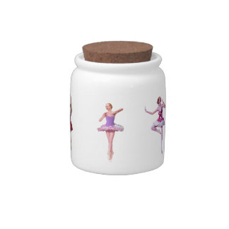 Ballet Themed Candy Jar Candy Dish