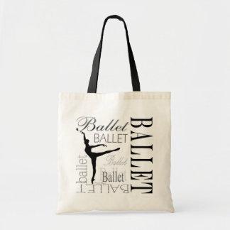 Ballet Tote (customizable) - Arabesque Budget Tote Bag