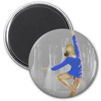 Ballet Turn Art Magnet
