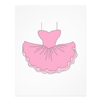 Tutu letterhead custom tutu letterhead templates for Ballerina tutu template