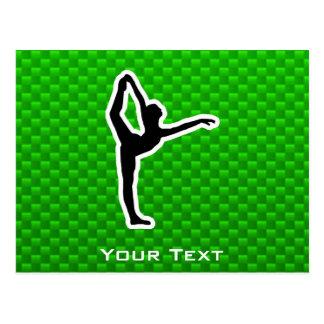 Ballet verde postal