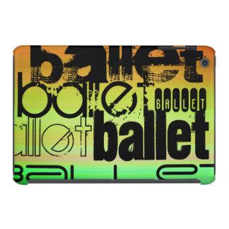 Ballet; Vibrant Green, Orange, & Yellow iPad Mini Retina Case