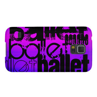 Ballet; Vibrant Violet Blue and Magenta Galaxy S5 Covers