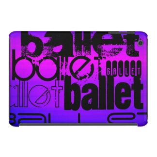 Ballet; Vibrant Violet Blue and Magenta iPad Mini Retina Cases