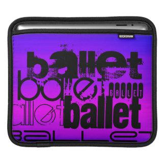 Ballet; Vibrant Violet Blue and Magenta iPad Sleeve