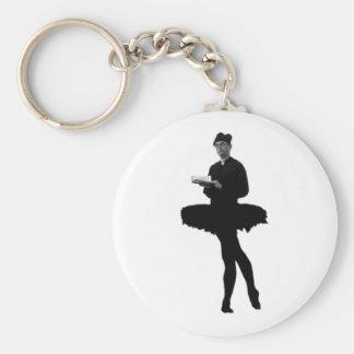 Ballet Vicar Keychain