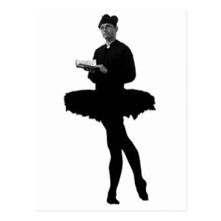 Ballet Vicar Postcard