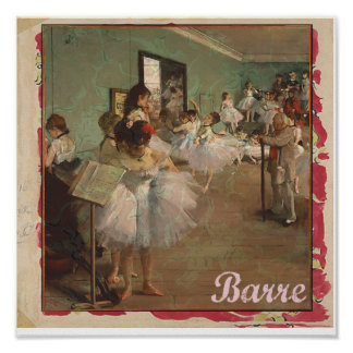 Ballet Vintage Art Print