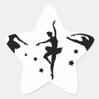 Ballet,w Star Sticker