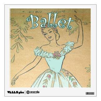 Ballet Wall Art Decal