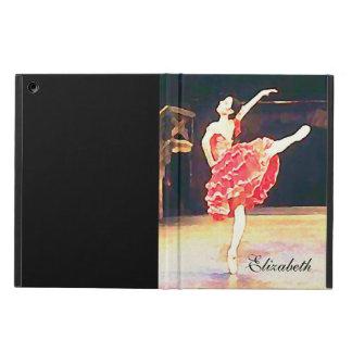 Ballet Watercolor Don Quixote Red Tutu iPad Air Case