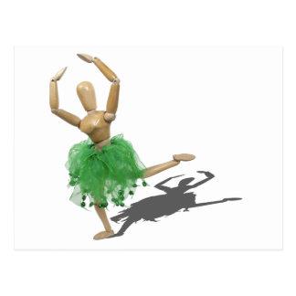 BalletAttitude122410 Tarjeta Postal