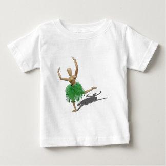 BalletLearningArabesque122410 Baby T-Shirt