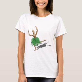 BalletLearningArabesque122410 T-Shirt