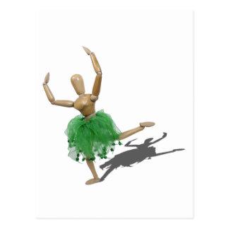 BalletLearningArabesque122410 Tarjeta Postal