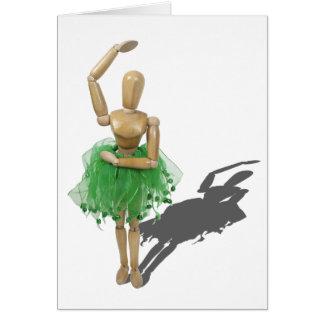BalletPose122410 Tarjeta De Felicitación