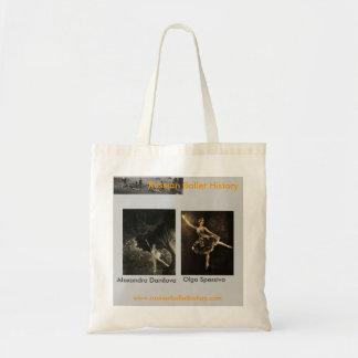 Ballets Russes Danilova/Spessiva Tote Bag