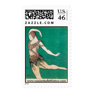 Ballets Russes Stamp