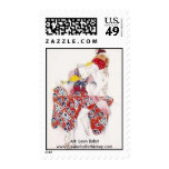 Ballets Russes Postage Stamps