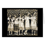 Ballets Russes Rite of Spring Stationery Note Card