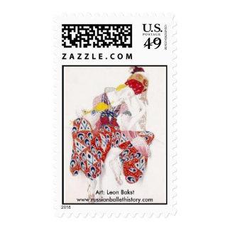 Ballets Russes Timbre Postal